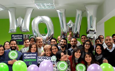 Feliz cumple WOW! Customer Experience