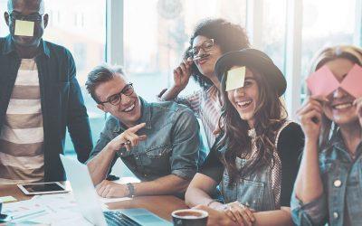 Mejorando la experiencia con el humor organizacional