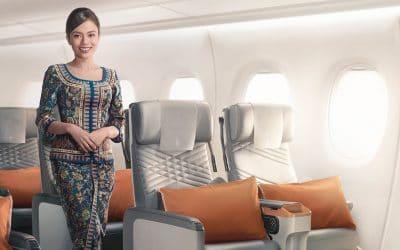 Singapur Airlines superó a las marcas australianas en Experiencia de Cliente