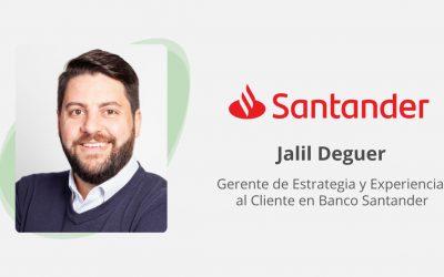 Entrevista con Jalil Deguer del Banco Santander