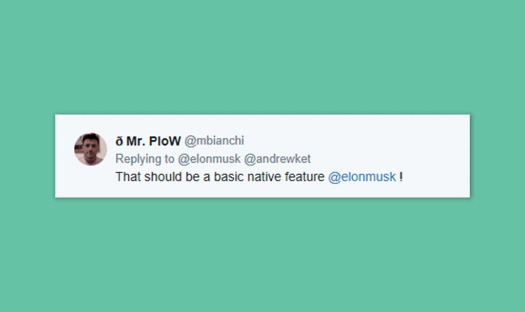 Elon Musk tweet13 blog wow