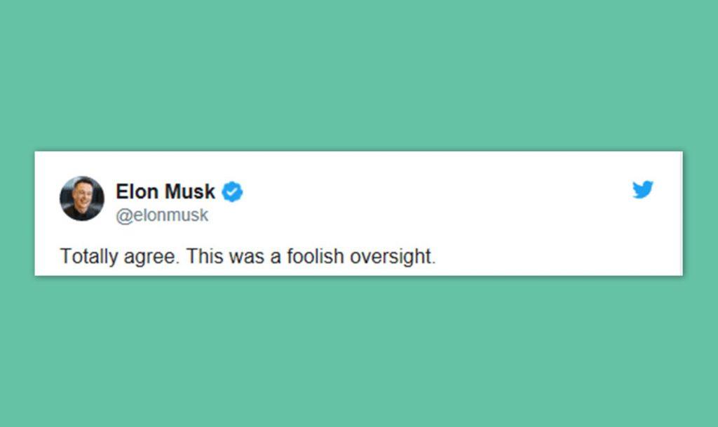 Elon Musk tweet14 blog wow