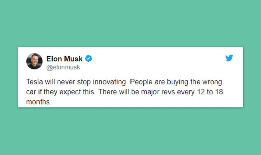 Elon Musk tweet16 blog wow