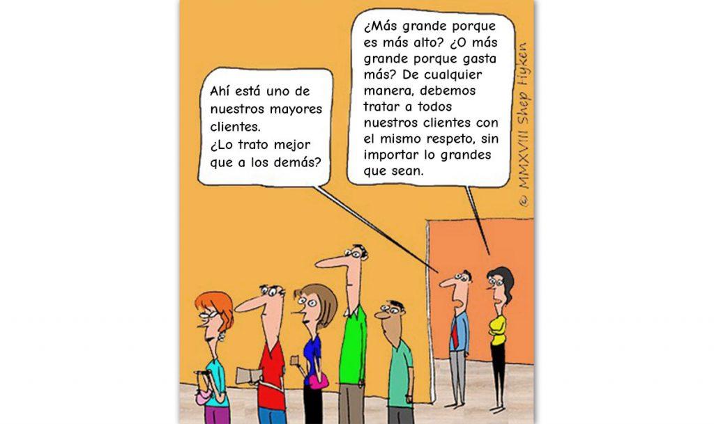 Todos los clientes son creados iguales...