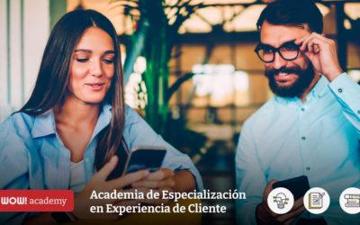 Profesionaliza tus habilidades en Experiencia de Cliente con WOW! academy